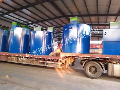 博鑫系列高效一体化污水处理罐